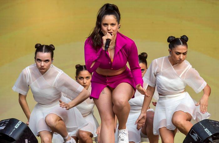 Rosalía sensual disco Mal Querer