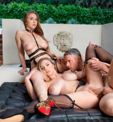 Gabbie Carter Lena Paul repiten experiencia sexual