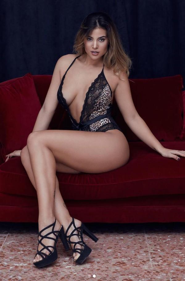 Lidia Santos enseña cuerpo desnudo