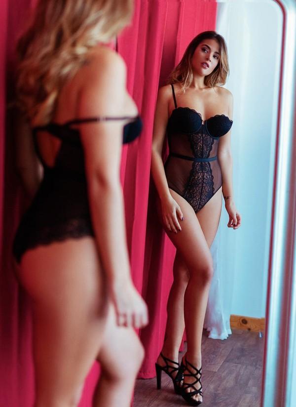 Lidia Santos foto ropa interior