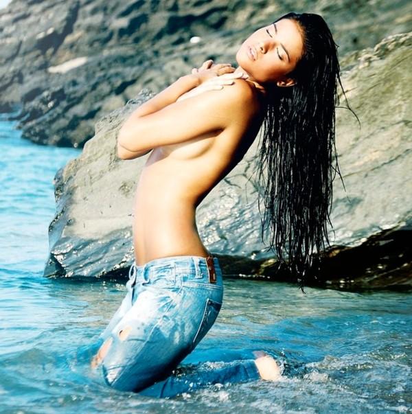 Lidia Santos modelo publicitaria