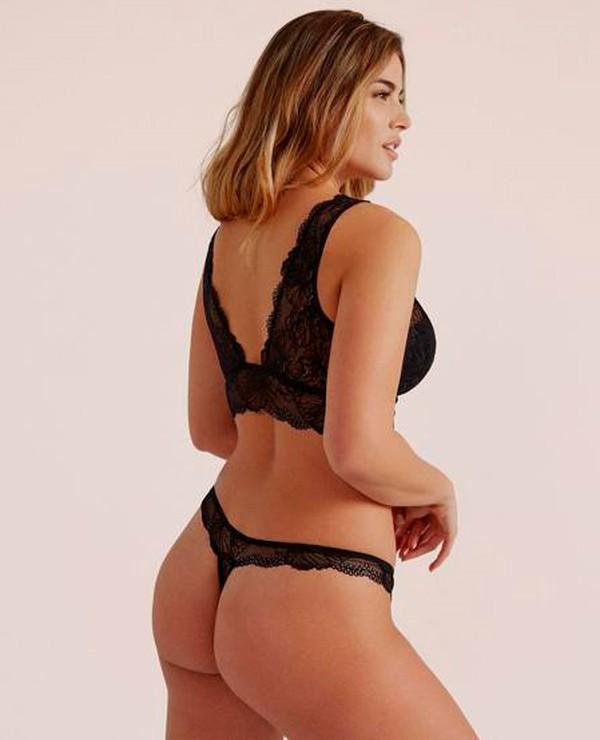 Lidia Santos modelo ropa interior