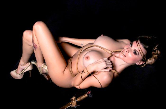 María Lapiedra posado erótico