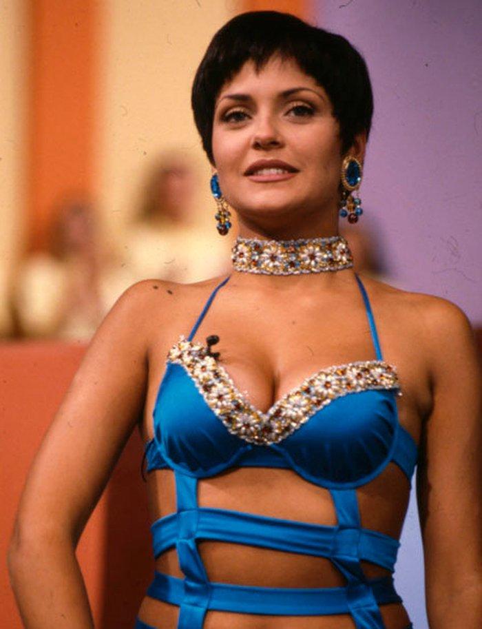 Patricia Pérez vestido provocador
