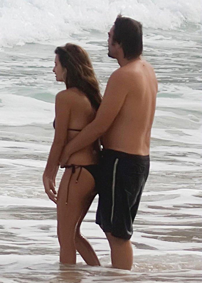 Penélope Cruz Javier Bardem Playa Vacaciones 2