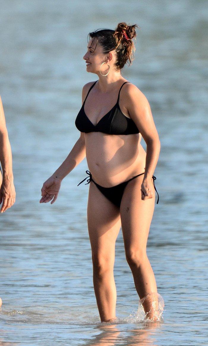 Penélope Cruz Fotos Bikini Embarazada 2
