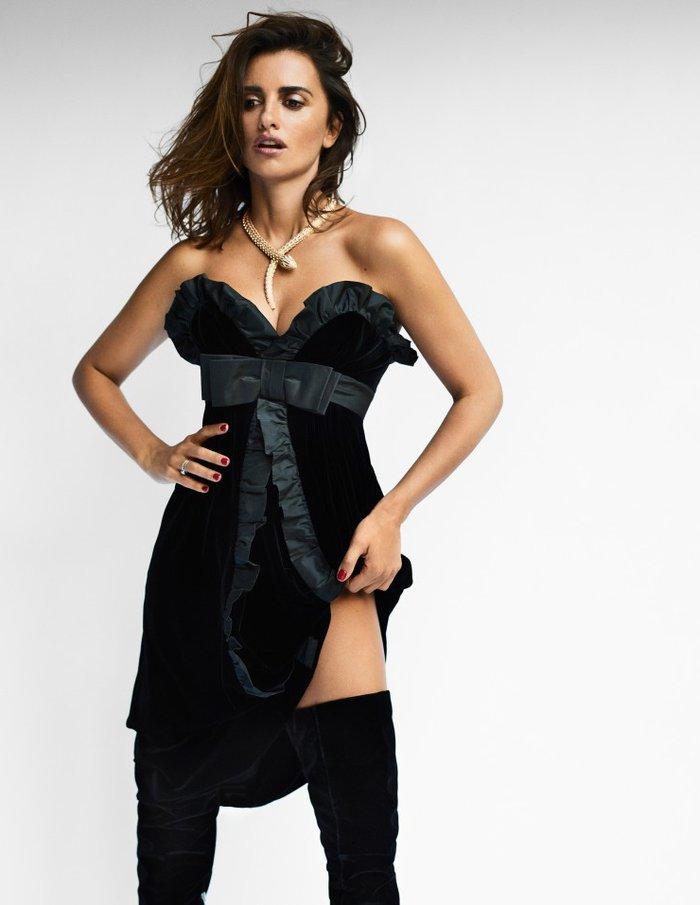 Penélope Cruz Posados Sexys Revista Moda 4