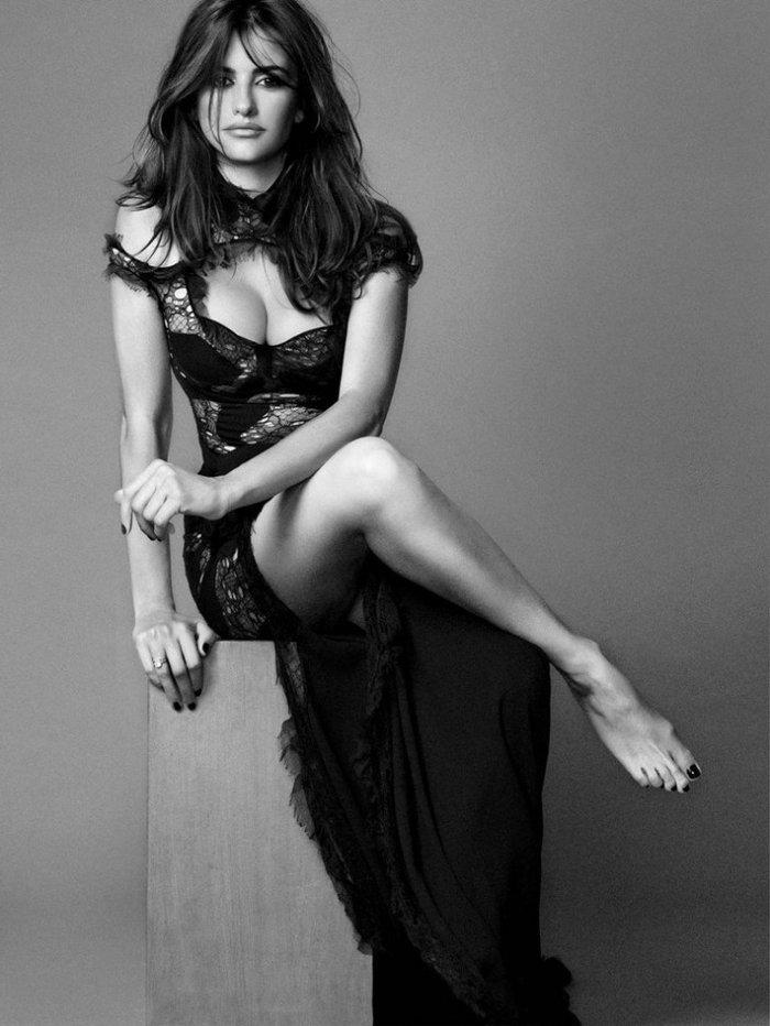 Penélope Cruz Posados Sexys Revista Moda 6