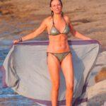 Susana Grisso pillada bikini