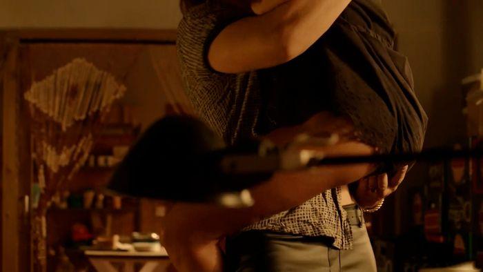Andrea del Río en escenas de sexo