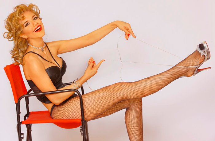 Beatriz Trapote en lencería