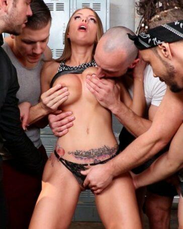 Britney Amber mercenaria orgasmos extremo