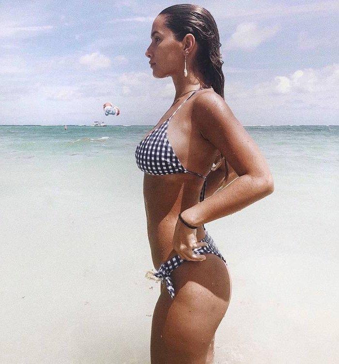 María Pombo atractiva modelo