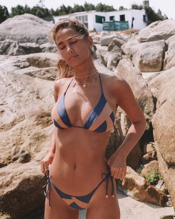 María Pombo fotografía sensual