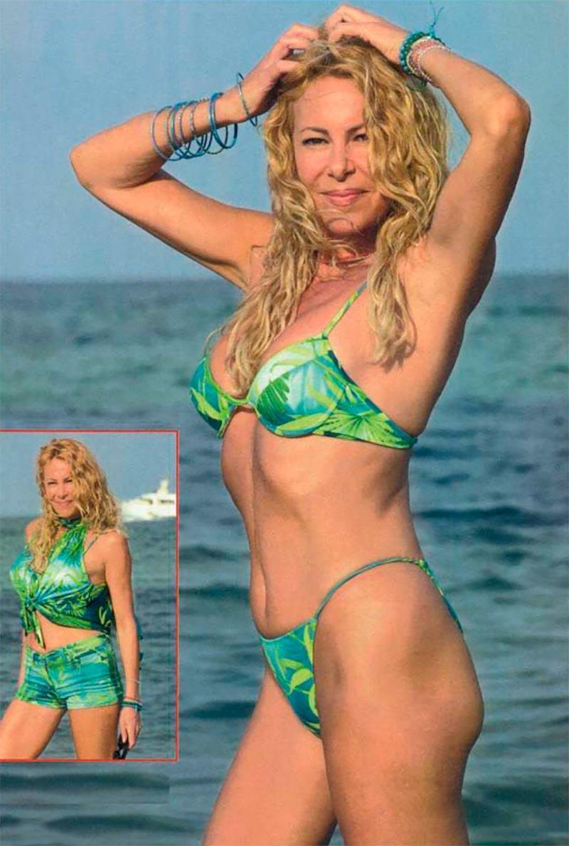 Ana Obregón Bikini Posado Veraniego Prensa 2