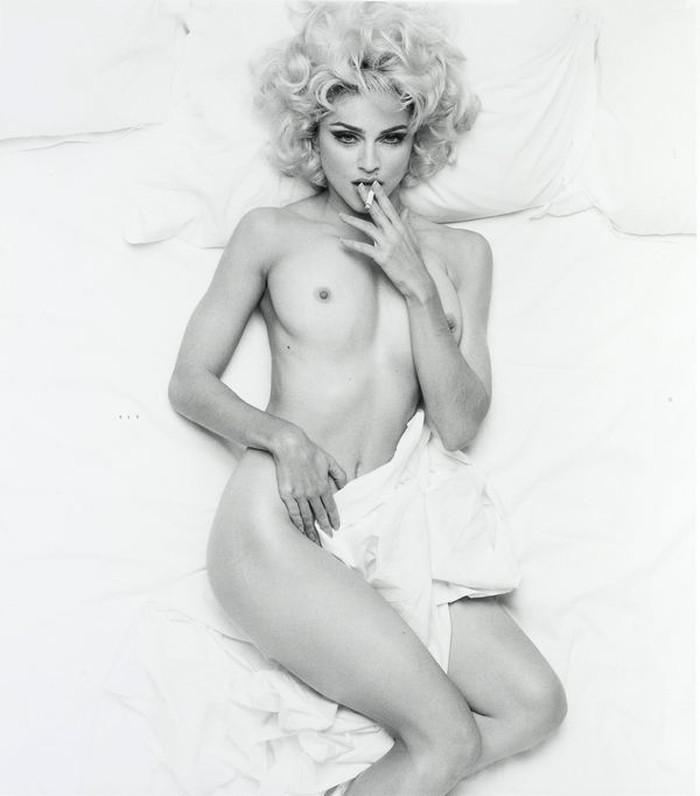 Madonna cantante americana portada revista