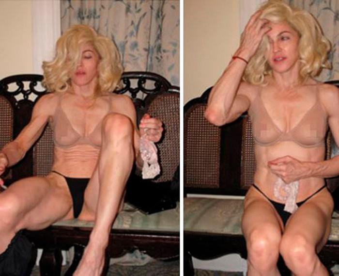 Madonna desnuda fotos privadas
