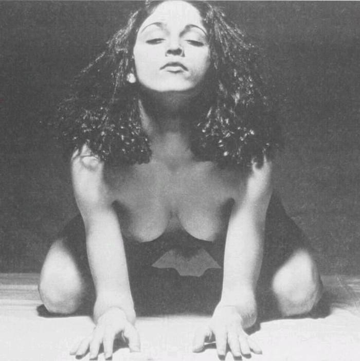 Madonna sexy en fotografía