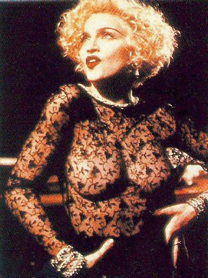 Madonna transparencias videoclip