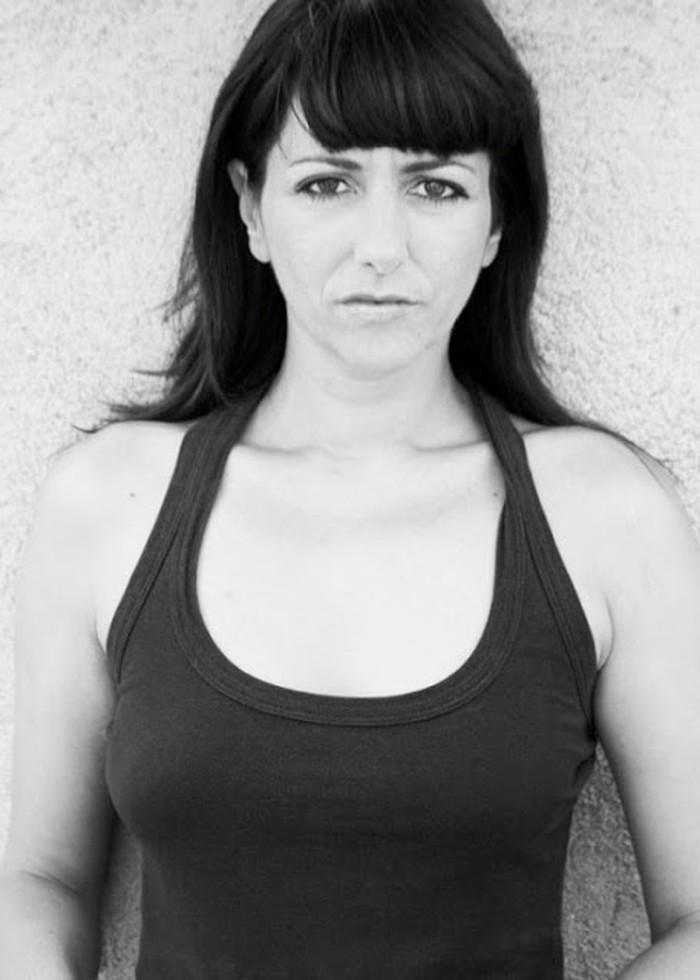Yolanda Ramos de joven