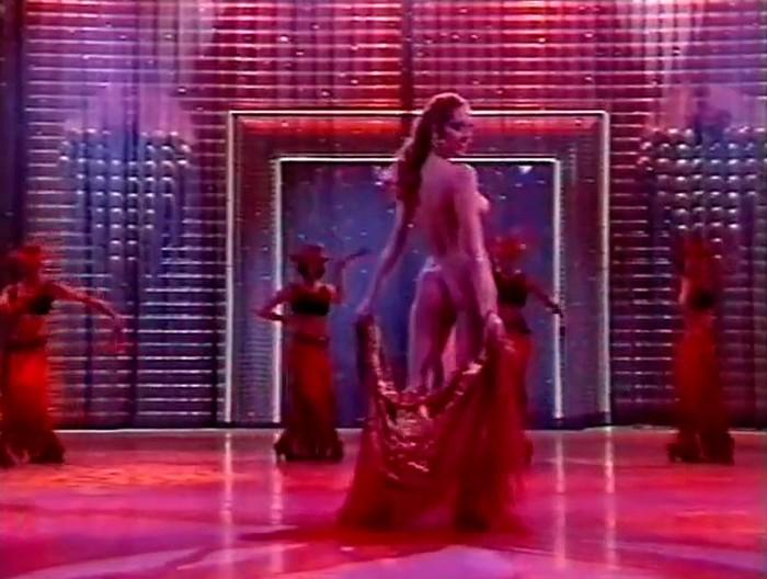 Yolanda Ramos striptease en Antena 3