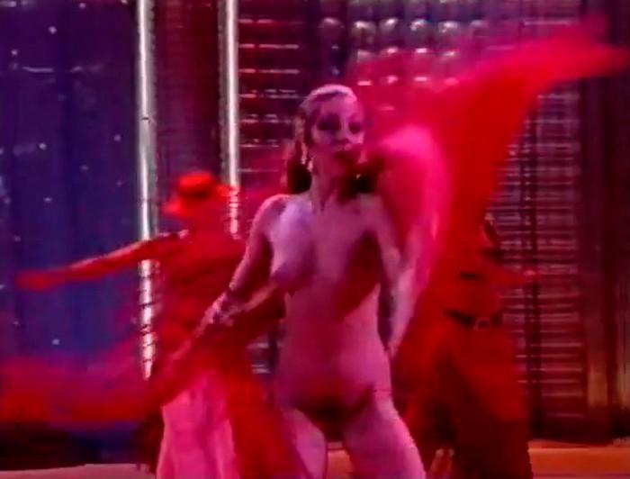 Yolanda Ramos striptease en Televisión
