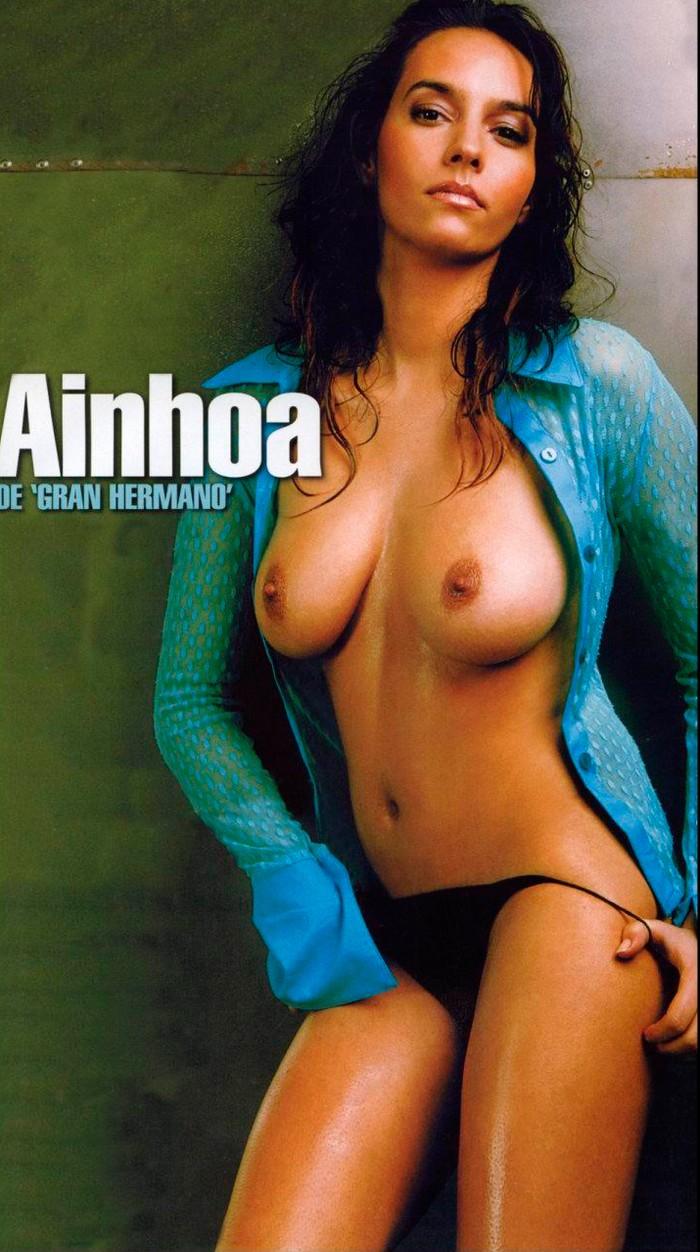 Ainhoa Pareja enseña cuerpo desnudo