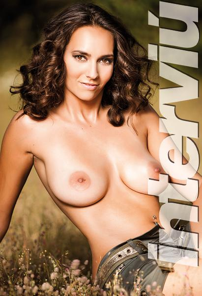 Ainhoa Pareja sesión fotográfica desnuda