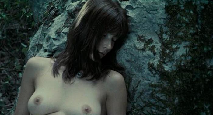 Bárbara Goenaga en topless