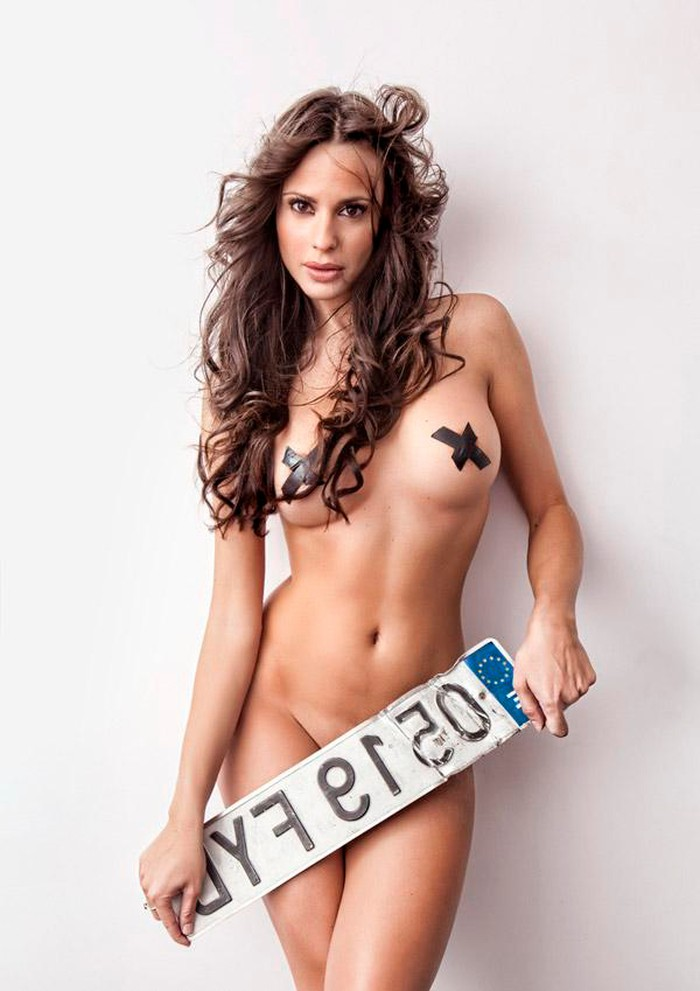 Begoña Alonso desnuda Primera Línea