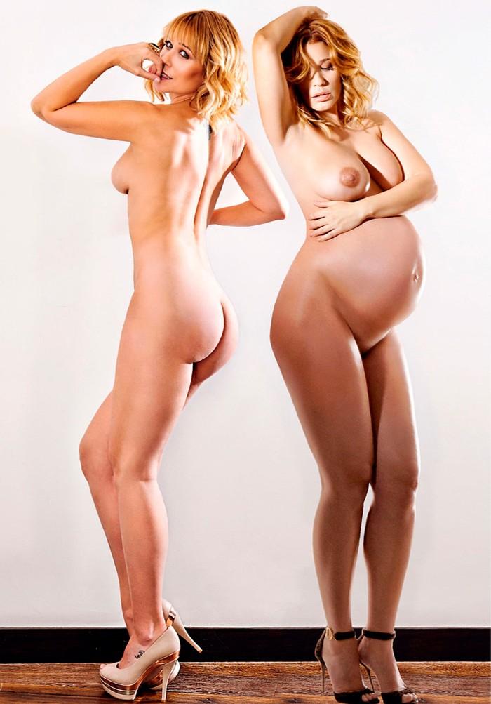 Carla Hidalgo desnuda embarazada