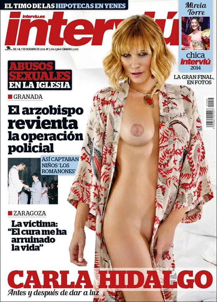 Carla Hidalgo portada interviu
