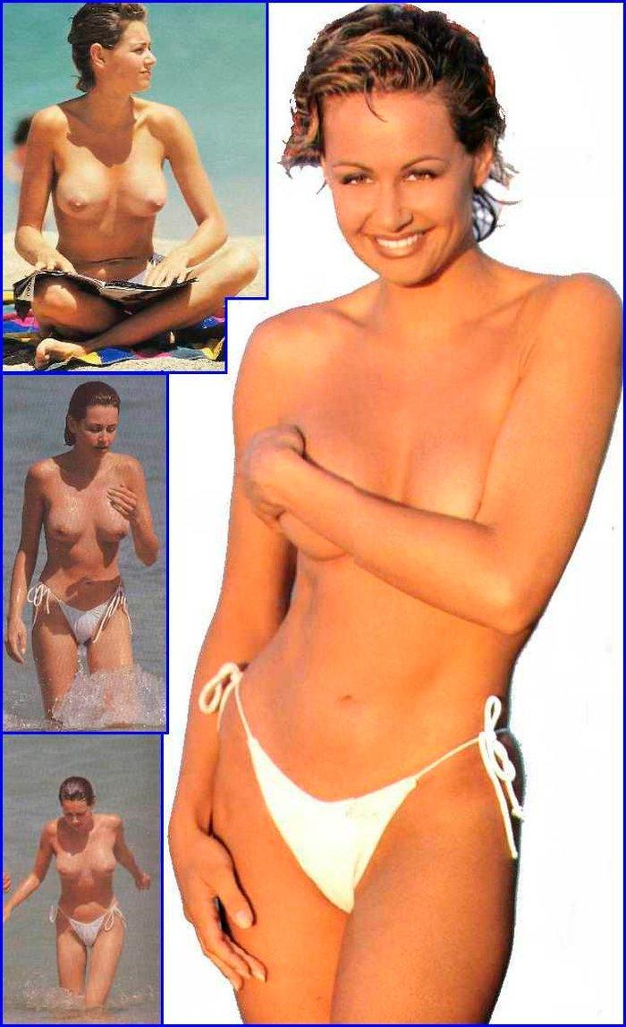 Esther Arroyo desnuda Interviu