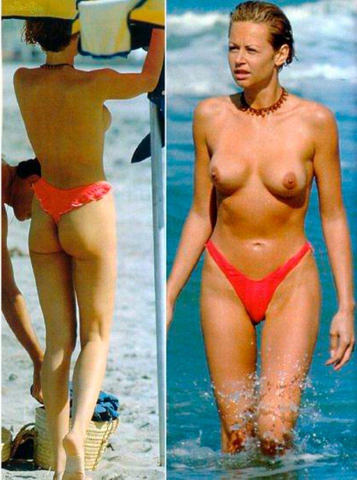 Esther Arroyo desnudo frontal y trasero