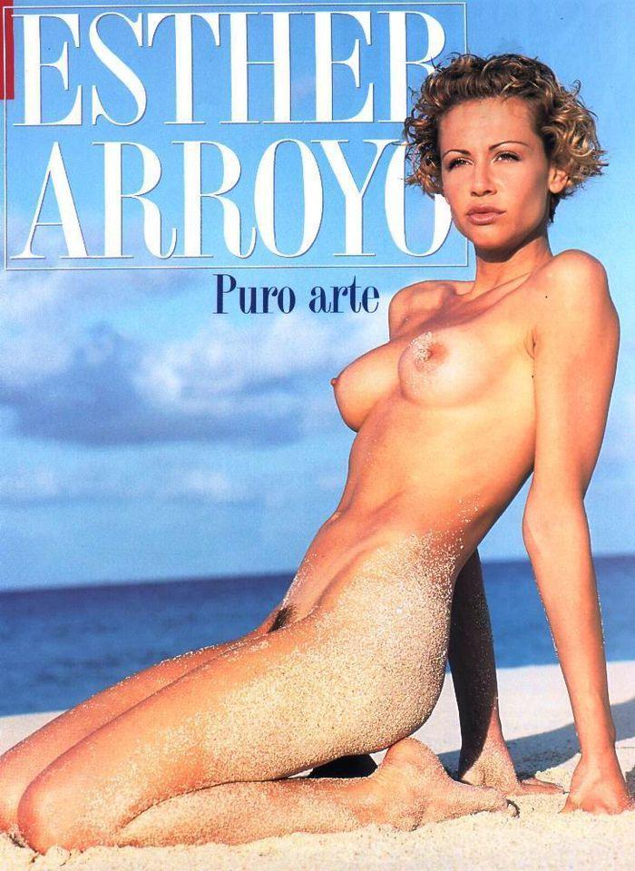 Esther Arroyo sesión fotográfica erotica