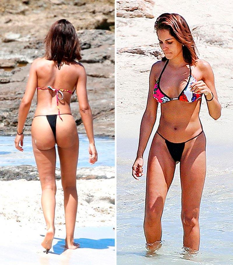 Hiba Abouk Bikini Provocativo Sexual