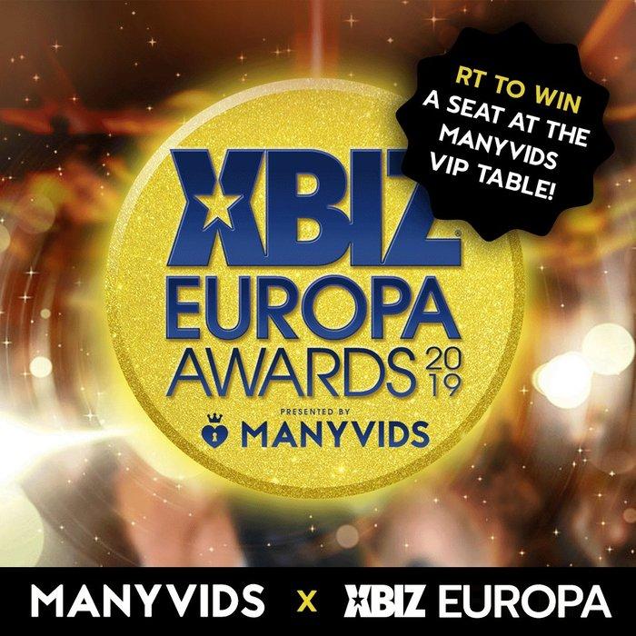 Próxima ceremonia XBIZ Europa Awards 2019