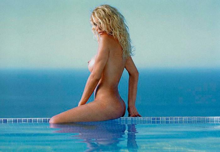 Bibiana Fernández sesión fotográfica erótica