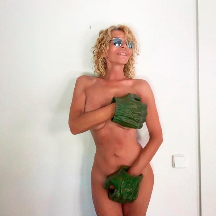 Bibiana Fernández transexual desnuda