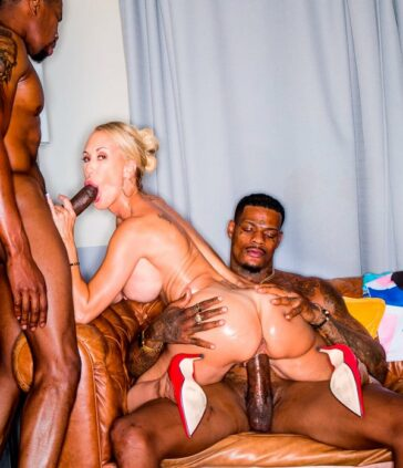 Brandi Love interracial sucio