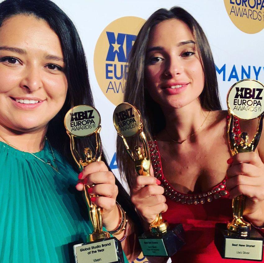 Liya Silver Xbiz Awards Europa 2019
