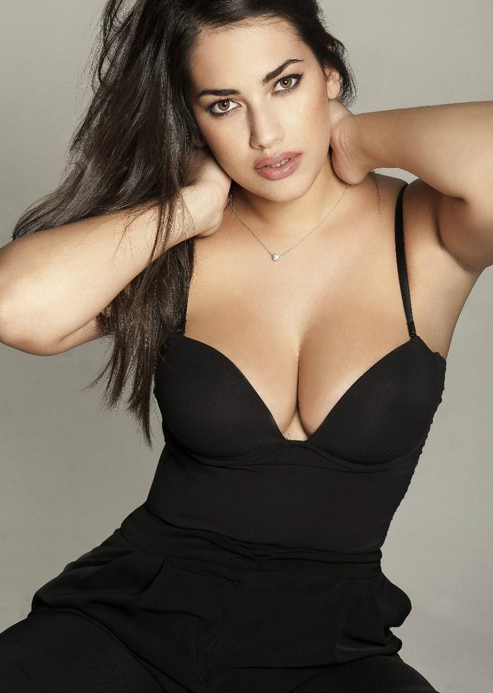 Lorena Durán modelo curvy