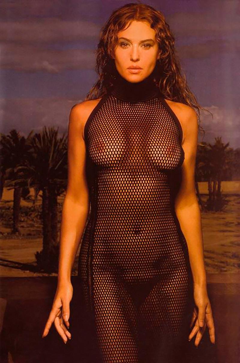 Monica Bellucci Desnuda Actriz Italiana 10