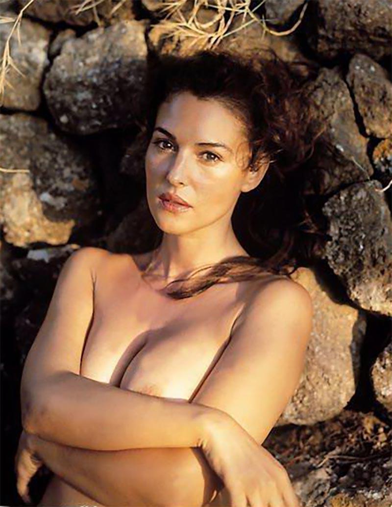 Monica Bellucci Desnuda Actriz Italiana 3