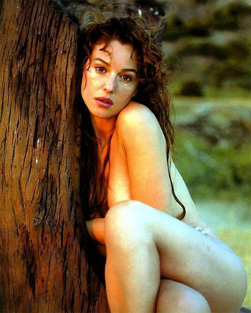 Monica Bellucci Desnuda Actriz Italiana 5