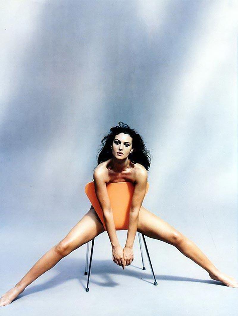 Monica Bellucci Diva Italiana Atractiva Modelo 3