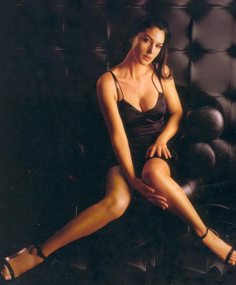 Monica Bellucci Diva Italiana Atractiva Modelo 5