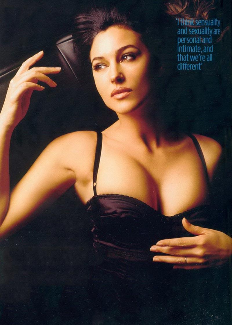 Monica Bellucci Diva Italiana Atractiva Modelo 6