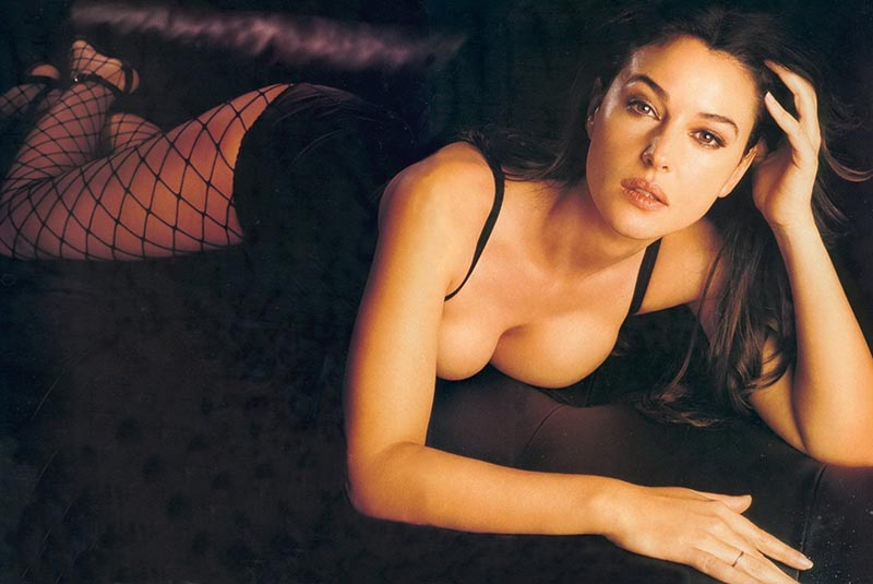 Monica Bellucci Diva Italiana Atractiva Modelo 7