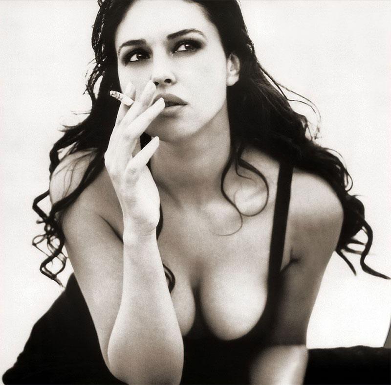 Monica Bellucci Diva Italiana Atractiva Modelo 8